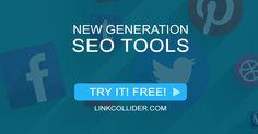 LinkCollider - Free SEO Tools Plus Social Media Sharing