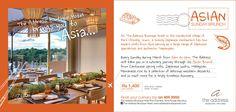 The Address Boutique Hotel - Asian Sunday Brunch at Izumi Restaurant. Tel: 405 3000