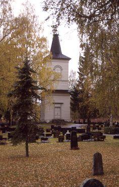 Heinola Tapuli ja kirkkomaata. Kuva: MV/RHO 28748 Martti Jokinen 1989