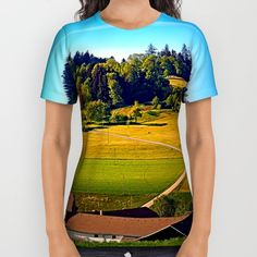 Buy From farm to farm All Over Print Shirt by Patrick Jobst. Worldwide shipping available at Society6.com. Just one of millions of high quality products available. American Apparel, Printed Shirts, Unisex, Cotton, Mens Tops, T Shirt, Stuff To Buy, Products, Fashion