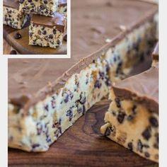 No Bake Cookie Dough Bars Recipe