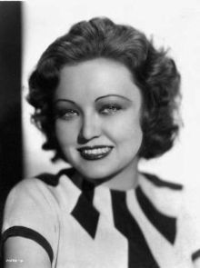 Lona Andre (2 Mar 1915 - 18 Sept 1992) - American film actress from Nashville, TN. She was one of the WAMPAS Baby Stars in 1932. She started in more than 50 films (mostly B films). She eloped to marry actor Edward Norris in 1935 and filed for an annulment 4 days later. She then married a salesman and divorced him in 1947. Her acting career faded in the 1940s; she retired in 1949 and became a successful businesswoman. She was also an avid golfer.