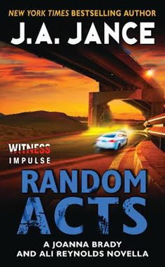 The Book Diva's Reads: Book Showcase: RANDOM ACTS by J.A. Jance @harpercollins