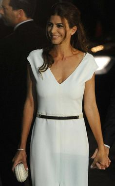 Vestido blanco de juliana awada