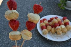 Zomerse Aardbei Snack! WOW! Delicious and dead easy!