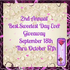 Ogitchida Kwe's Book Blog : The BEST Sweetest DAY EVER! Giveaway 2nd Annual! @...