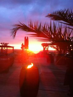 Sunset From Scheveningen Boulevard La Haye, The Hague, Holland, Fair Grounds, Celestial, Sunsets, Places, Fun, Travel