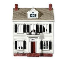 Colonial House, Nostalgic Houses & Shops Series Hallmark Ornament, 2010