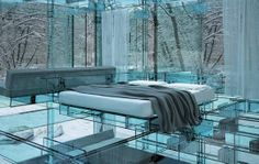 Transparent Homes - This Concept House is Made Completely from Glass (GALLERY)
