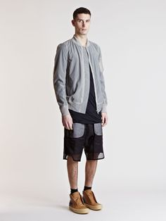 Rick Owens Men's Flight Bomber Jacket