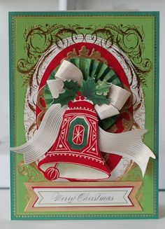 Anna Griffin Christmas Card Kits | Holiday-Trimmings-Card Anna Griffin | Projects/ craft ideas