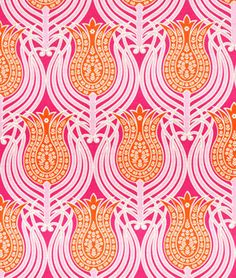 Shop Joel Dewberry Tulips Tangerine Fabric at onlinefabricstore.net for $9.35/ Yard. Best Price & Service.