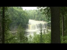 Trails of Michigan, Tahquamenon Falls Pin to Win: Michigan in Love  #PureMichigan  Saww the falls for the first time with my hubby on our honeymoon.