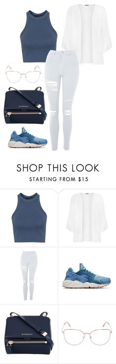 """Untitled #114"" by rahmadita14 on Polyvore featuring Topshop, WearAll, NIKE, Givenchy and Peter & May"