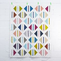 Parcel Quilt <br>by Michelle Engel Bencsko {coming soon} from Make It Sew Projects for Cloud9 Fabrics  xxxx