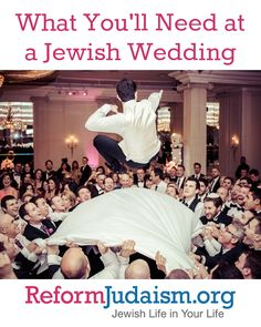 Flowers? Check. Band? Check. Now learn about the chuppah, ketubah, and rings that you will need for your wedding.