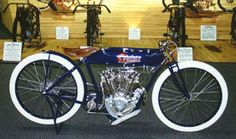 1914 Cyclone Motorcycle Stripped-stock model
