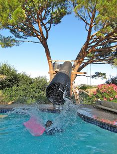 Home Brew Water Slide | So my buddy Dean sees a YouTube vide… | Flickr
