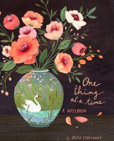 becca stadtlander illustration: Preview- One Thing At A Time