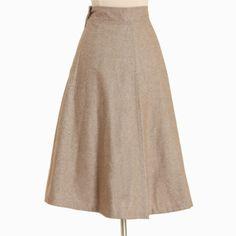 Wilhemina Wool Skirt | Ruche $52.99