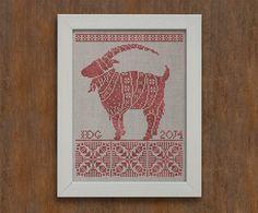 Julbocken The Yule Goat Instant Download PDF by modernfolk