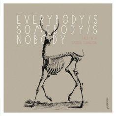 Everybody's Somebody's Nobody  Fred Frith / Darren Johnston