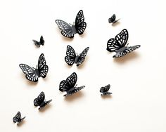Hey, I found this really awesome Etsy listing at http://www.etsy.com/listing/161485143/3d-wall-butterflies-grey-winter-frost