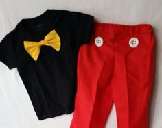 Image result for diy mickey mouse costume toddler