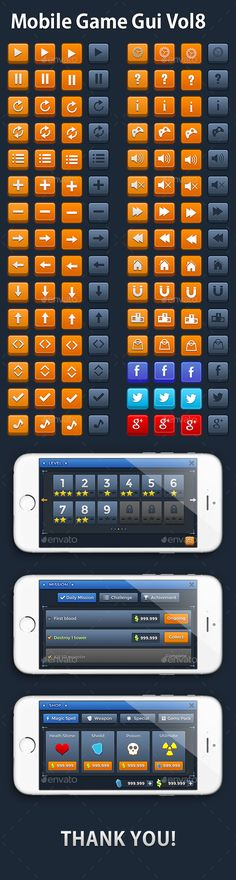 Mobile Game Gui Vol 8 (User Interfaces)