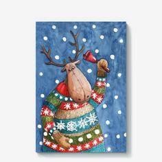 рождественский олень - Поиск в Google