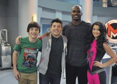 """Football Player Adrian Peterson Guest Stars On Disney XD's """"Mighty Med"""" Best Tv Shows, Movies And Tv Shows, Favorite Tv Shows, Mega Med, Bradley Steven Perry, Mighty Med, League Of Heroes, Paris Berelc, Fantasy League"""