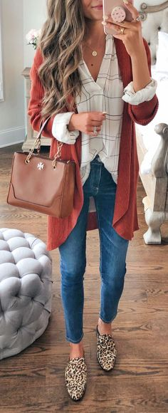 9ec8b75ff8e 50 Fall Outfit Ideas to Copy Asap - MyFavOutfits Кэжуал Наряды