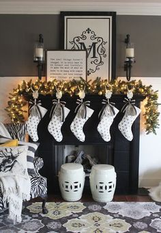 Here are 100 Best Christmas Mantel Decorations. Take inspiration for the perfect Christmas Fireplace decor, that include various themes & traditional styles Elegant Christmas, Simple Christmas, Christmas Home, Christmas Villages, Victorian Christmas, Christmas Christmas, Vintage Christmas, Christmas Ornaments, Christmas Fireplace