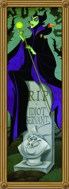 Maleficent, Haunted Mansion Walt Disney World Walt Disney, Disney Magic, Disney Art, Disney Movies, Disney Pixar, Disney Stuff, Disney Parody, Evil Disney, Disney Rooms