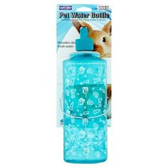 Happy Home Pet Products Water Bottle For Small Animals, Blue Pet Water Bottle, Bathroom Design Small, Bathroom Designs, French Country Decorating, Guinea Pigs, Walmart Shopping, Fresh Water, Rustic Decor, Small Animals