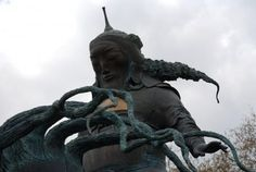 The new statue of Genghis Khan at London's Marble Arch