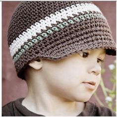 crochet hat for kids--pattern