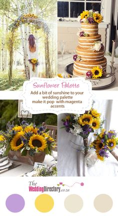 Add a little sunshine to your wedding