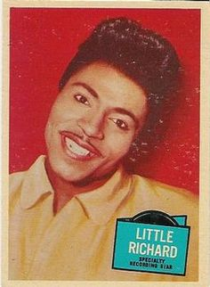 1957 Topps Hit Stars #35 Little Richard Front