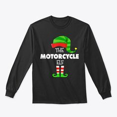 Discover The Motorcycle Elf Group Matching Family T-Shirt, a custom product made just for you by Teespring. With world-class production and customer support, your satisfaction is guaranteed. - Celebrate Christmas in style...! Enjoy the... Merry Christmas Meme, Funny Christmas Sweaters, Matching Family T Shirts, Customer Support, Elf, Just For You, Group, Celebrities, Sweatshirts