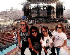 """#JamesHetfield #KirkHammett #LarsUlrich #JasonNewsted #Metallica #MetallicaFamily #MFF"""