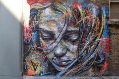 London street art by David Walker