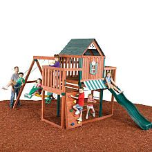 "Winchester Wood Swing Set - Swing-N-Slide - Toys ""R"" Us"