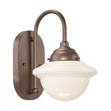 Neo-Industrial 1 Light Wall Sconce