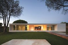 Minimal House in Melides, Portugal