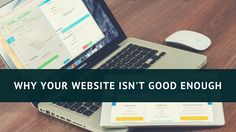 In professional services, reputation is everything, but online presence is often overlooked. Here's why your #website isn't good enough, and how you can make the most of it. #marketing