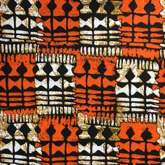 Stool African Print