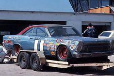 "1967 - Mario Andretti's (#11) ""Bunnell Motors"" ""Holman- Moody"" Ford Failane…"