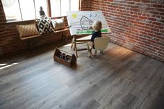 Vinyl flooring is the perfect flooring for heavy foot traffic, and to keep up with all the crazy things kids can do to a floor. Stone Flooring, Wooden Flooring, Flooring Liquidators, Home Estimate, Luxury Vinyl Flooring, Waterproof Flooring, Tile Floor, Hardwood, Sweet Home