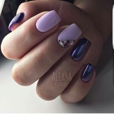Purple pink with rhinestones